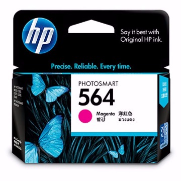 Cartucho HP 564 Colorido Magenta