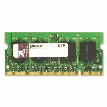 Memória Kingston 1GB 800Mhz DDR2 p/ Notebook KVR800D2S5/1G