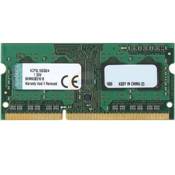 Memória Kingston 4Gb DDR3-1600Mhz Notebook Proprietario Low Voltage KCP3L16SS8/4
