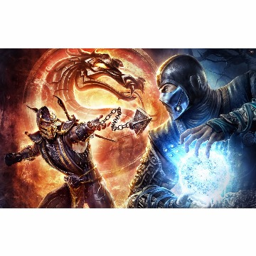 Skin Adesivo para Notebook Mortal Kombat