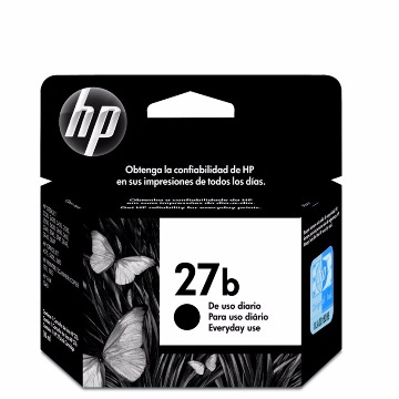 Cartucho HP 27b Preto