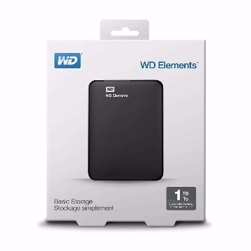 HD Externa Portátil Western Digital 1Tb 3.0 WD Elements