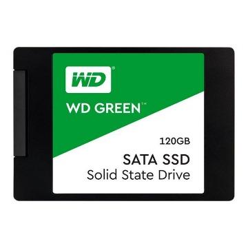 SSD WD 120Gb Green Sata 3 2.5 7mm WDS120G2G0A