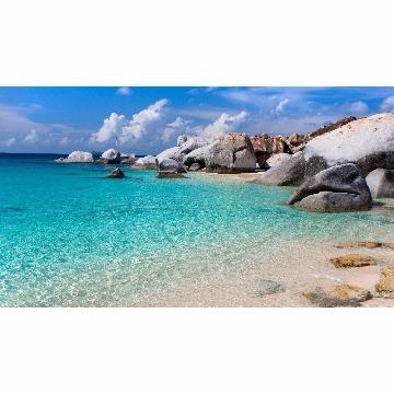 Skin Adesivo para Notebook Praia de Pedras
