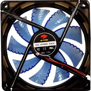 Cooler (Gabinete) G-Fire EW2252LGEX 120X120X25MM Led Azul