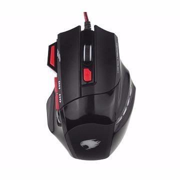 Mouse Gamer G-Fire MOG015EGLB USB Pto/Verm DPI 800/1600/2800