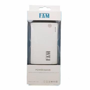Carregador Portátil Power Bank Fam L801 8000mah