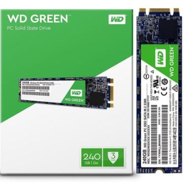 SSD Western Digital Green, M.2, 240GB, SATA 3