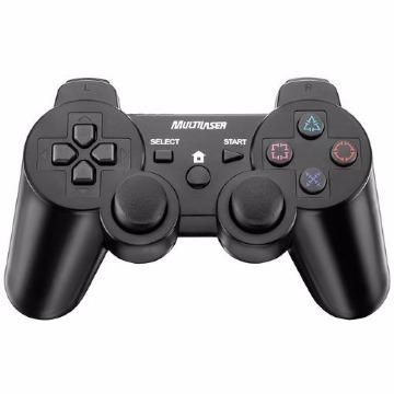 Controle 3 em 1 USB Multilaser para PS3/PS2/PC - JS071