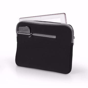 Case Neoprene para Notebook até 14 Polegadas Preto/Cinza - BO207