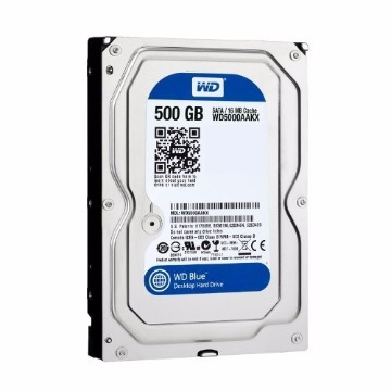 HDD Western Digital 500Gb Sata 6.0GB/S WD5000AAKX 16MB 7200 RPM