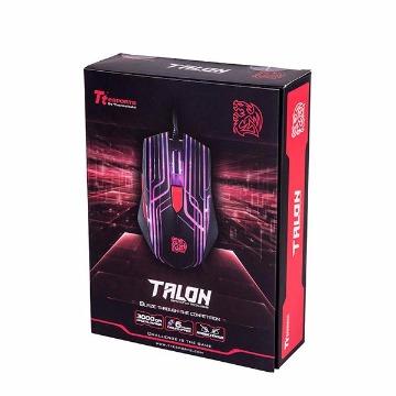 Mouse Gamer Thermaltake Laser Talon RGB Omron Preto TTEsports - MO-TLN-WDOOBK-01