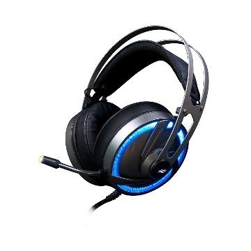 Fone Headset Gamer Goshawk PH-G300SI Preto/LED PS2 C3Tech