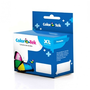 Cartucho HP 60XL Black 17ML Compatível ColorTek