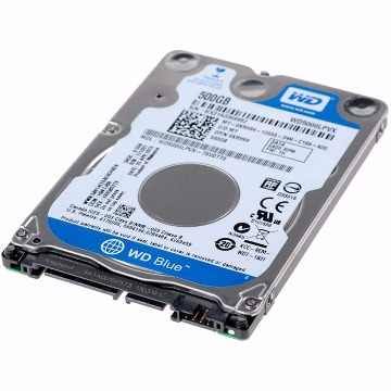 HDD Notebook Western Digital 500Gb 2.5´´ Sata 3 6.0Gb/s WD5000LPVX 8Mb 5400Rpm