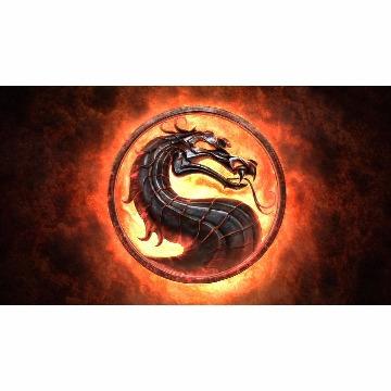 Skin Adesivo para Notebook Mortal Kombat Logo