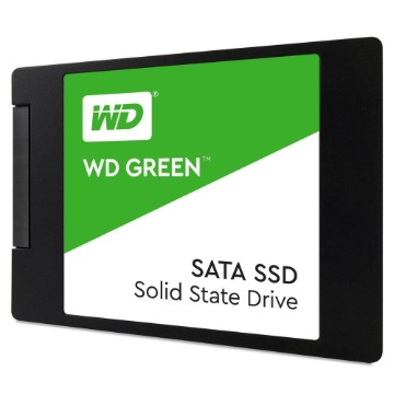 SSD WD Green 240GB SATA, Leitura 545MB/s, Gravação 465MB/s - WDS240G2G0A