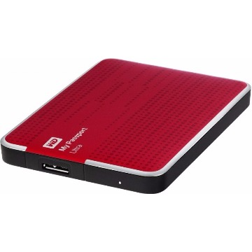 Hd Externo Western Digital  1TB SATA 3.0 Vermelha WDBZFP0010BRD