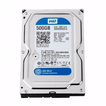 HD Interno 500Gb Western Digital Blue Sata III 7200RPM 16Mb WD5000AZLX