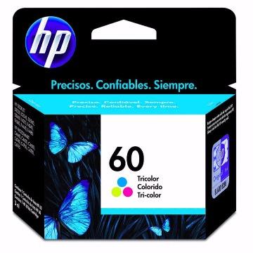 Cartucho HP 60 Colorido Tricolor