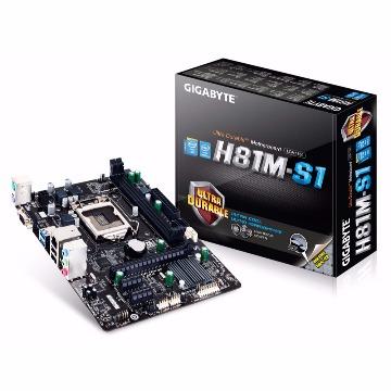 Placa Mãe (Intel) Gigabyte GA-H81M-S1 LGA 1150