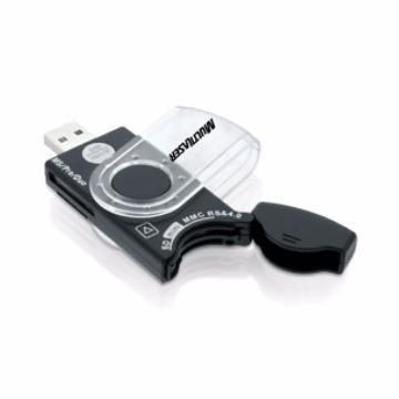 Leitor de Cartão Externo USB Multilaser AC102