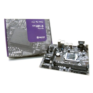 Placa Mãe Kazuk LGA 1150 H81 DDR3 16Gb C/ HDMI KZKH81-BR
