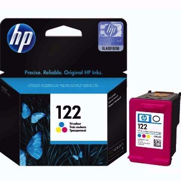 Cartucho HP 122 Colorido Tricolor