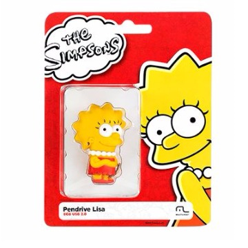Pen Drive Simpsons Lisa 8Gb Multilaser - PD072