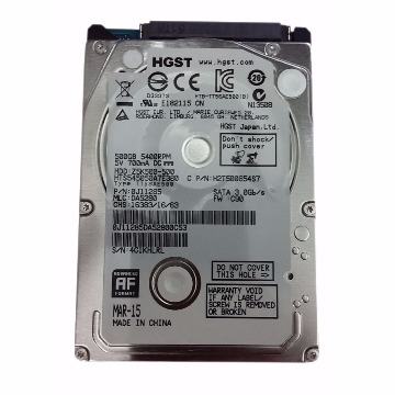 HDD Notebook Hitachi 500Gb Sata HTB-TT5SEA500