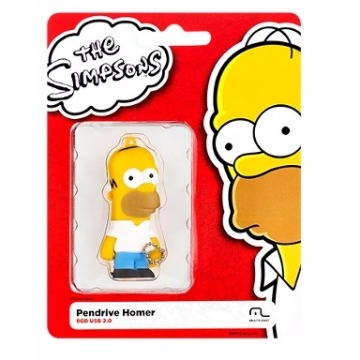 Pen Drive Simpsons Homer 8Gb - PD070