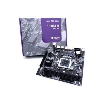 Placa Mãe (Intel) H61 1155 DDR3 Kazuk C/ HDMI KZKH61-B