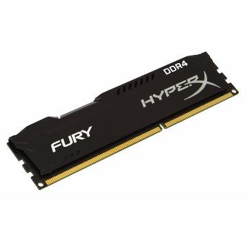 Memória 4Gb DDR4 2400Mhz 1.2V HyperX Fury Preta - Desktop - HX242C15FB/4