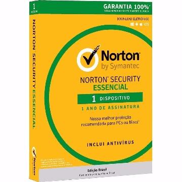 Licença Norton Security Essencial 3.0 BR 1 Usuário 1 ano