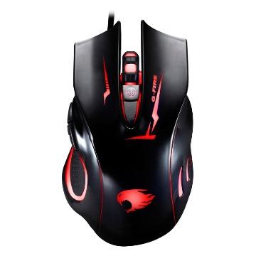 Mouse G-Fire Gamer MOGT2 USB Preto