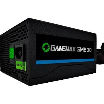 Fonte ATX 500W GM500 24P Sata 80 Plus Bronze Preto OEM Gamemax
