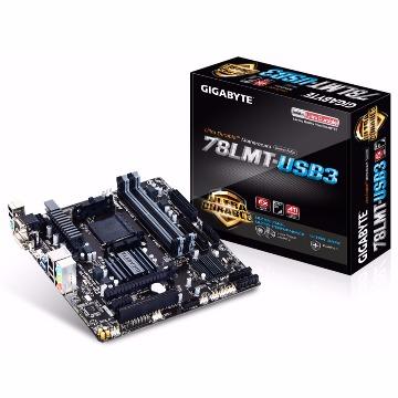 Placa Mãe (AMD) Gigabyte GA-78LMT-USB3 AM3/AM3+