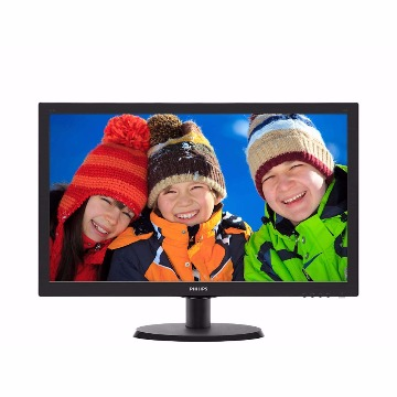 Monitor 21.5´ Philips LED 223V5LHSB2 Full HD Widescreen RGB/HDMI