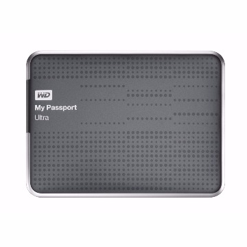 HDD Externo 1Tb Western Digital My Passport Ultra Titanium 2,5 Portátil USB 3.0 WDBZFP0010NBTT