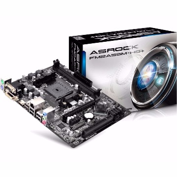 Placa Mãe (AMD) AsRock FM2A55M-HD+ R2.0 FM2/FM2+
