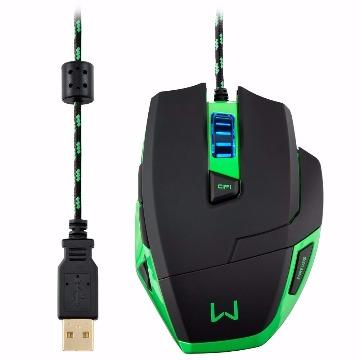 Mouse Warrior Gamer Macro 3200Dpi Multilaser - MO245