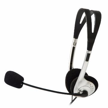 Fone de Ouvido com Microfone C3Tech Voicer Light Stereo Pto/Pta CT662040BS