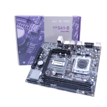 Placa Mãe Kazuk LGA 775 G41 DDR3 8GB - KZKG41-B