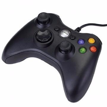 Controle Game Multilaser Dual Shock Preto XPAD PC/XBOX 360 - JS063