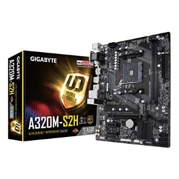 Placa Mãe (AMD) Gigabyte GA-A320M-S2H DDR4 AM4