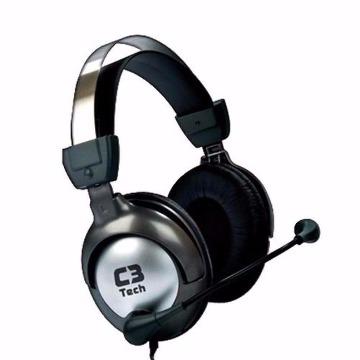 Fone de Ouvido com Microfone Gamer Raptor Stereo Pto/Pta MI-2870RS