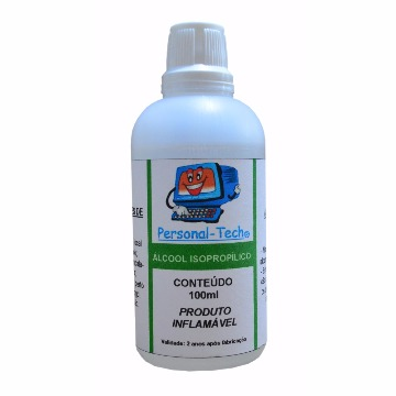 Álcool Isopropílico Personal-Tech - 100ml