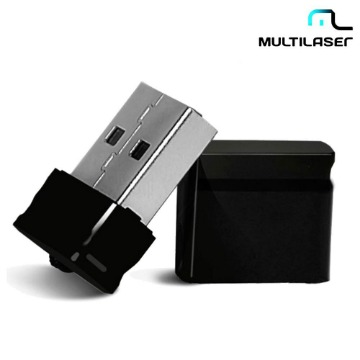 Pen Drive Nano Preto Multilaser 16Gb - PD054