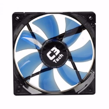 Cooler (Gabinete) C3Tech F7-L100BL 120X120X25MM Led Azul