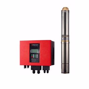 Bomba Submersa 2 CV com Inversor gerenciável + Painéis e sensor de poço seco